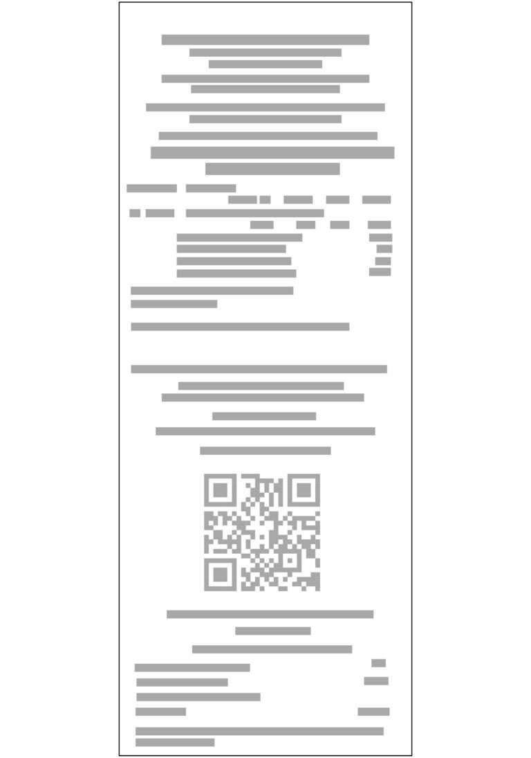 Exemplo de Nota Fiscal de Consumidor Eletrônica NFCE